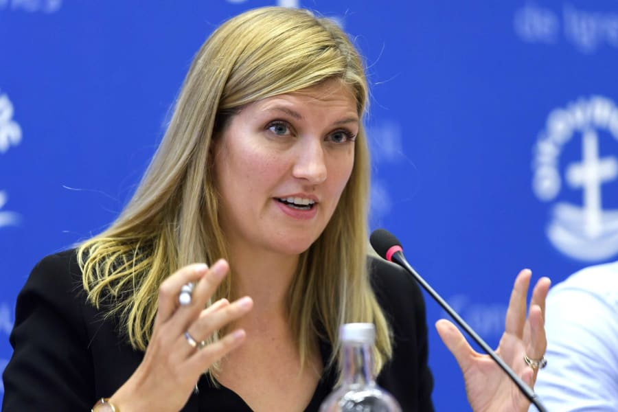01 Beatrice Fihn ICAN Nobel PEACE Prize 1006 RESTRICTED