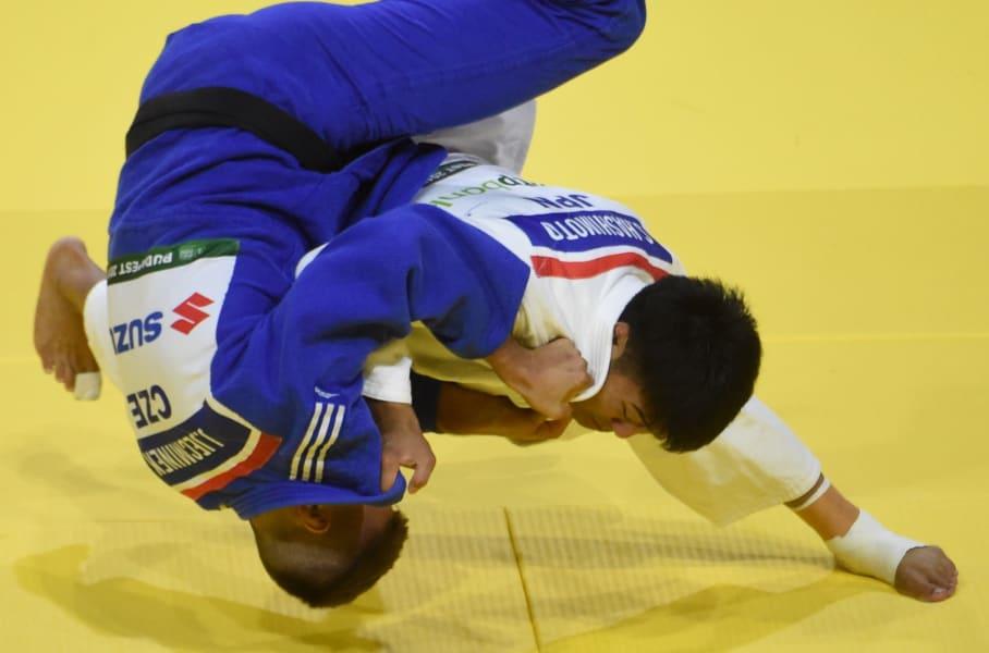 soichi hashimoto throw to ground