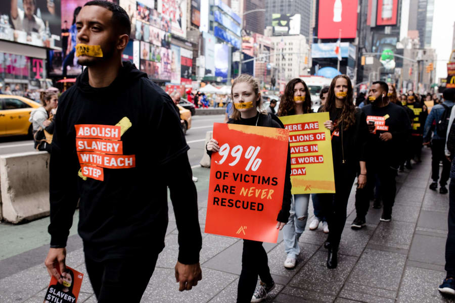 walk for freedom NYC