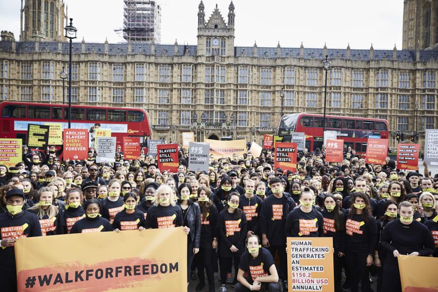 walk for freedom London
