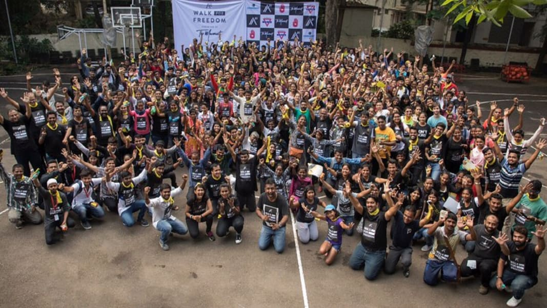 walk for freedom india