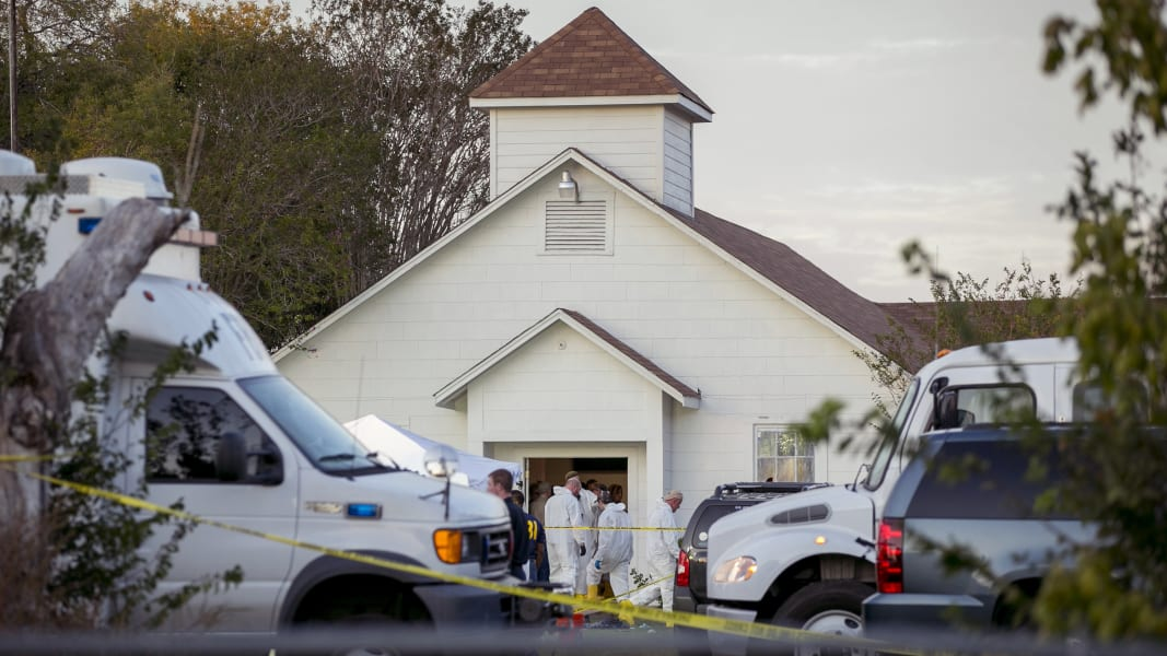 12 Sutherland Springs church shooting