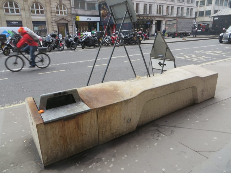 The rise of hostile architecture