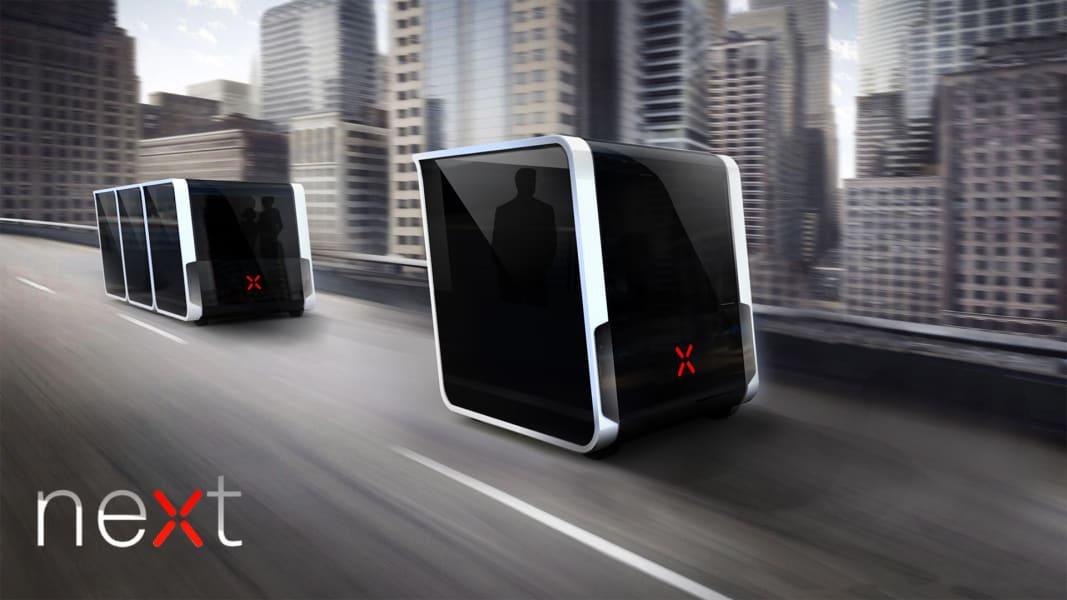Next Future Transportation dubai concept