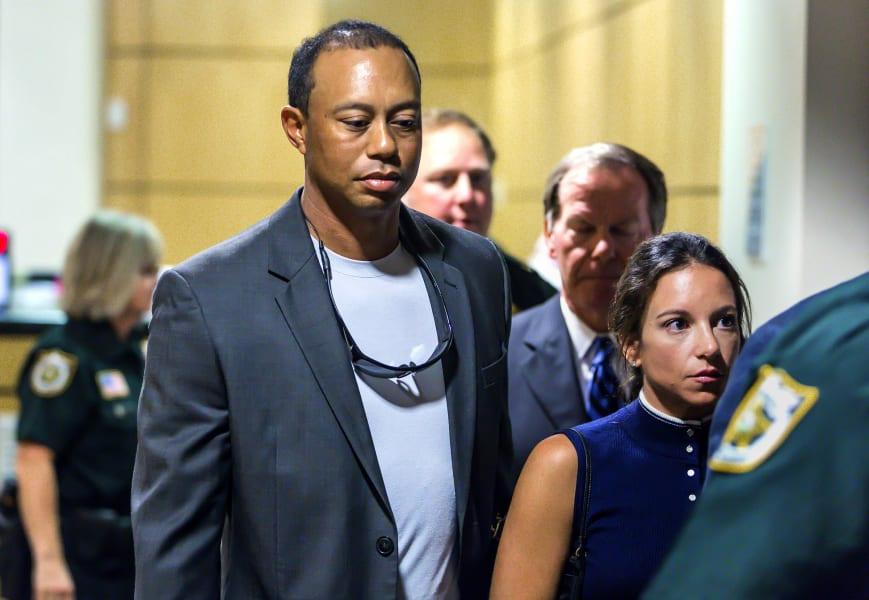 Tiger Woods court dui