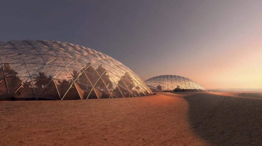 dubai mars science city 2
