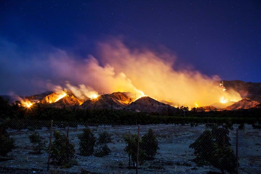 28 California fire 1205
