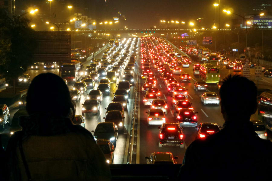 02 rush hour traffic beijing