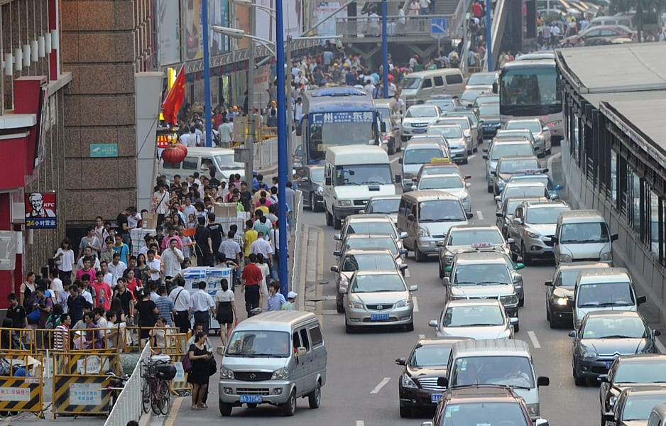 05 rush hour traffic guangzhou