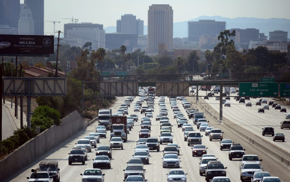 12 rush hour traffic los angeles