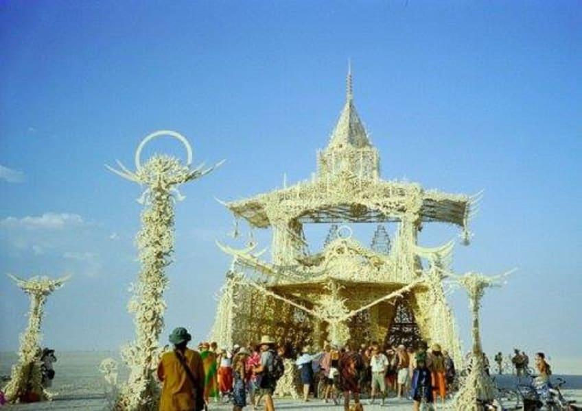Burning Man temple of tears