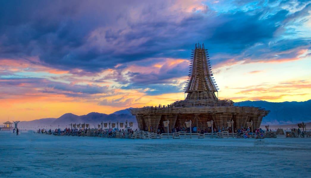 Burning Man temple 2017
