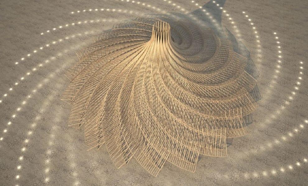 Burning Man mamou-mani galaxia
