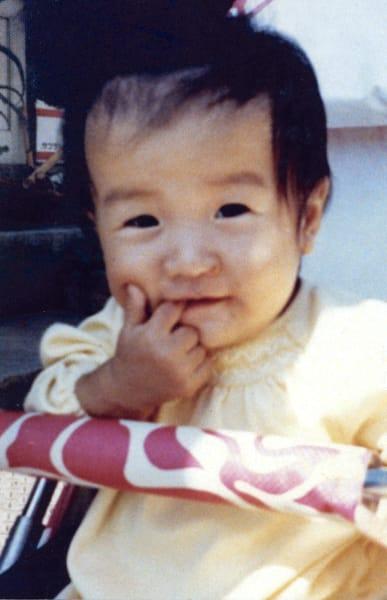 ryoko tani japanese judoka aged one