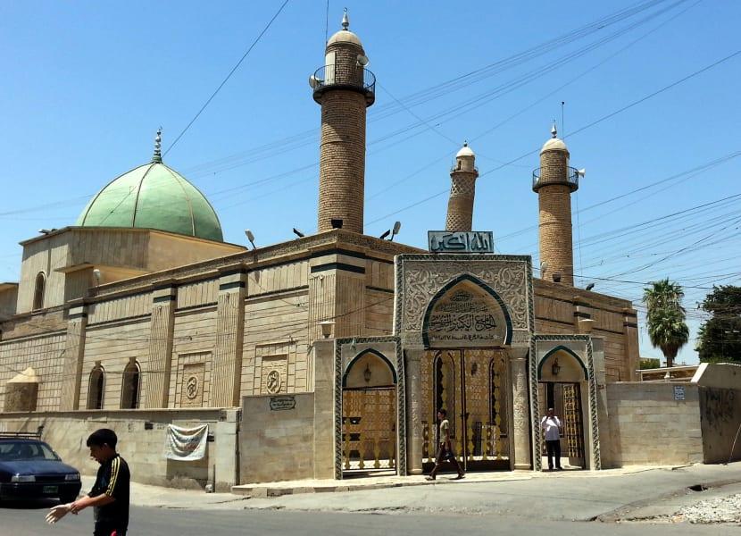 al-nuri mosque file 2014 RESTRICTED