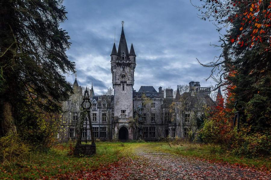 Chateau Miranda Castle Belgium RESTIRCTED