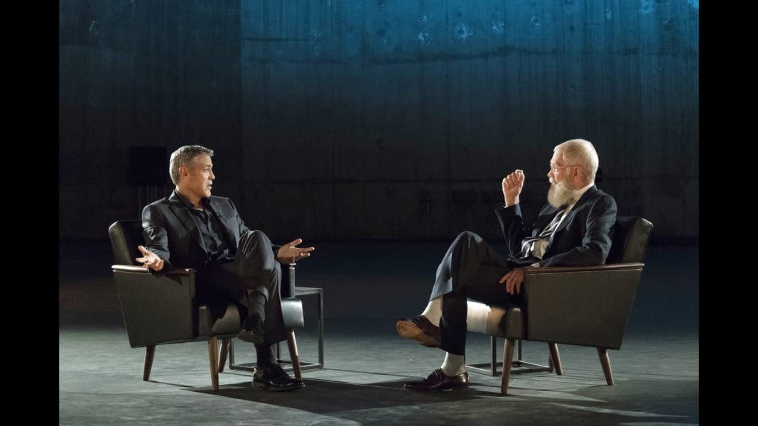 MY FIRST GUEST NEEDS NO INTRODUCTION WITH DAVID LETTERMAN: GEORGE CLOONEY
