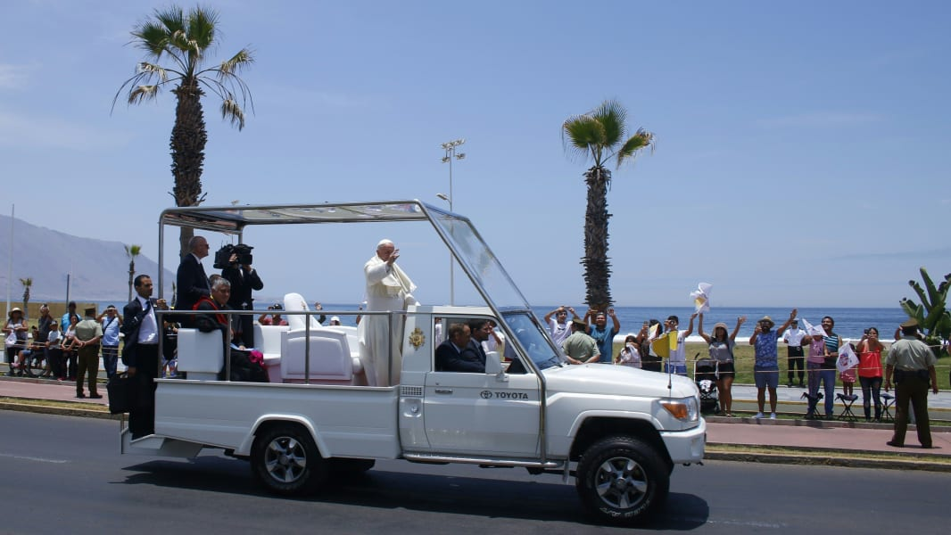 Popemobile 2018