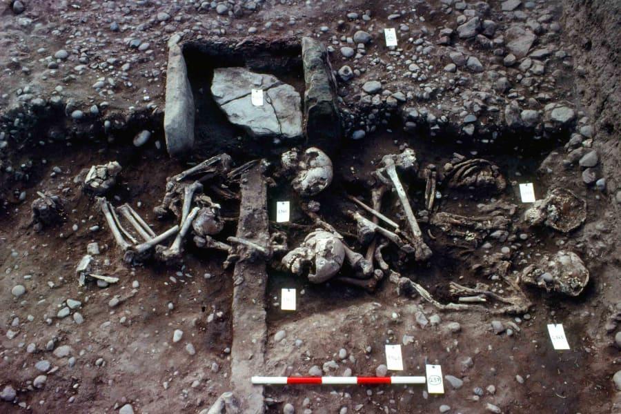02 repton viking burial site