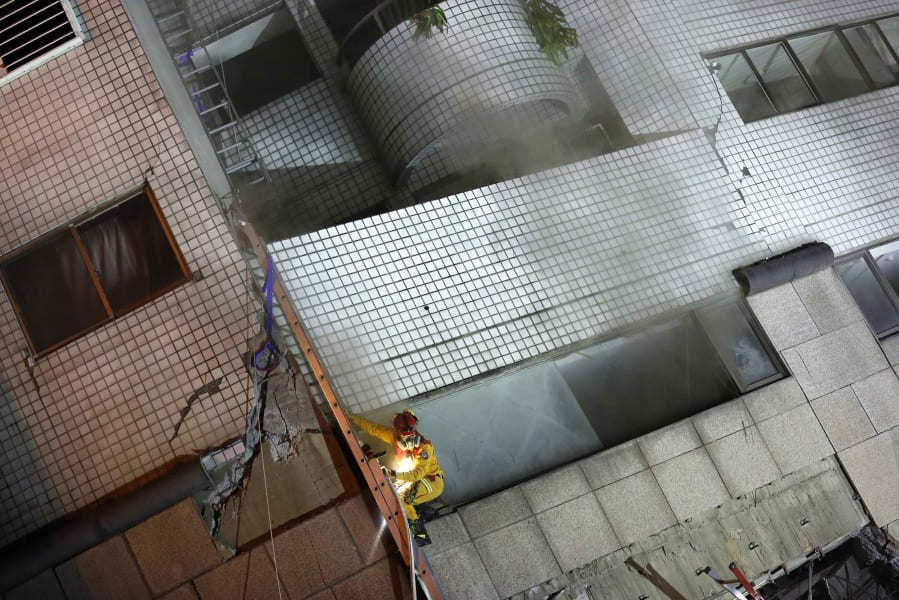 16 taiwan quake 0207 RESTRICTED