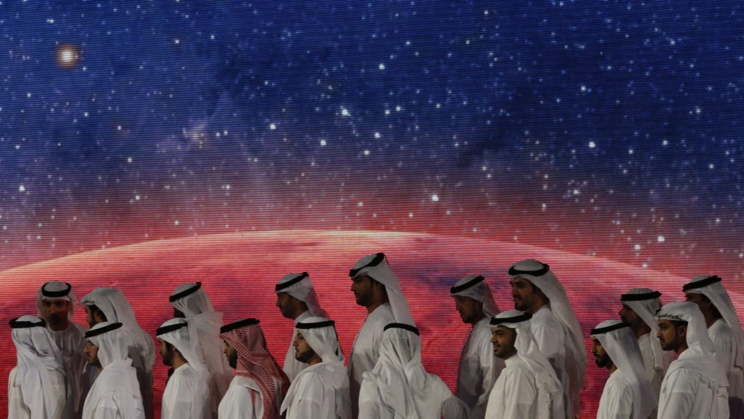 UAE Mars officials