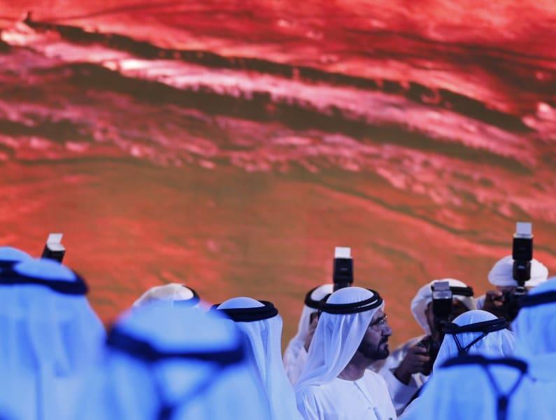 UAE mars mission bin rashid