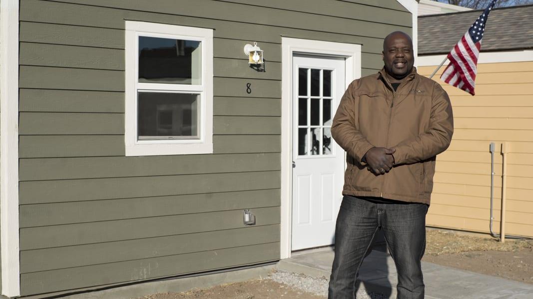 tiny houses army coast guard vet