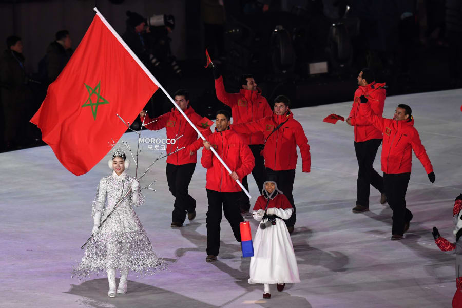 PyeongChang 2018 olympic games opening ceremony 13