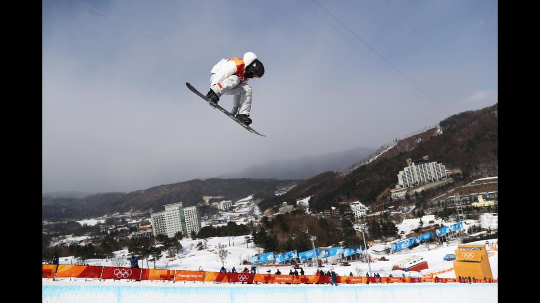 17 winter olympics 0213 halfpipe qualifying Shaun White