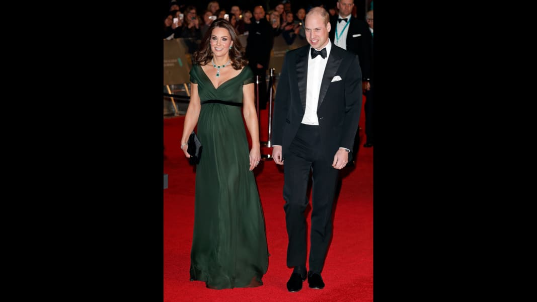 09 BAFTAS 2018 Duke and Duchess of Cambridge RESTRICTED
