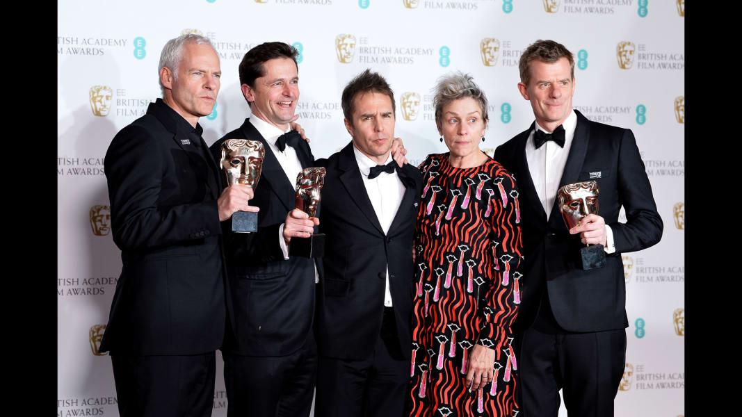 13 BAFTAS 2018