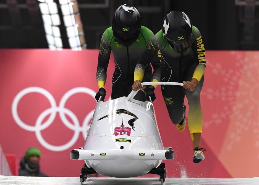Jamaica bobsled team 1