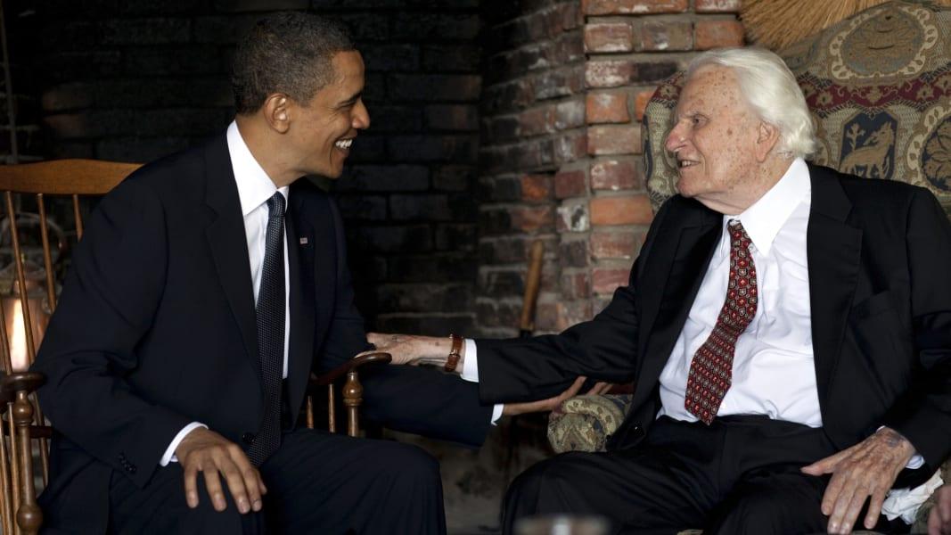 Billy Graham and Obama