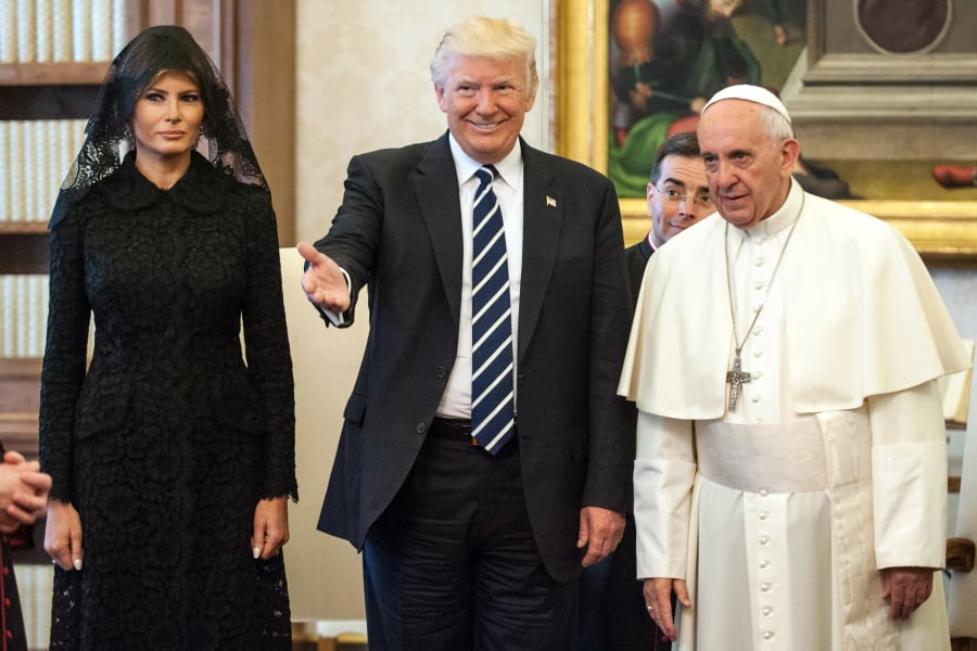 2017 File of Pope and Trump RESTRICTED