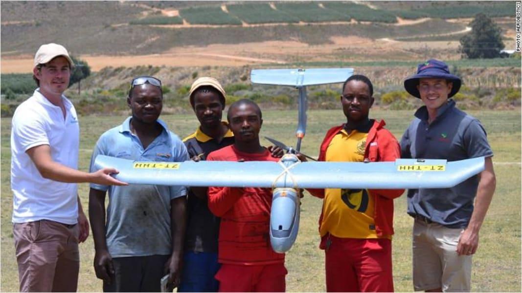Aerobotics drone made in SA