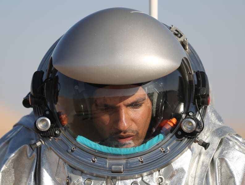 Mars Oman astronaut