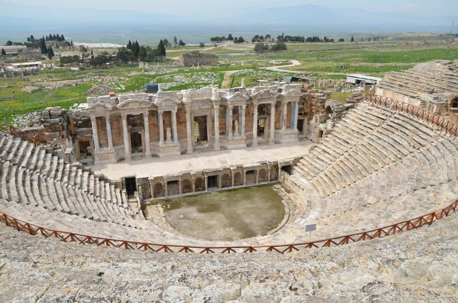 Plutonium Hierapolis theatre