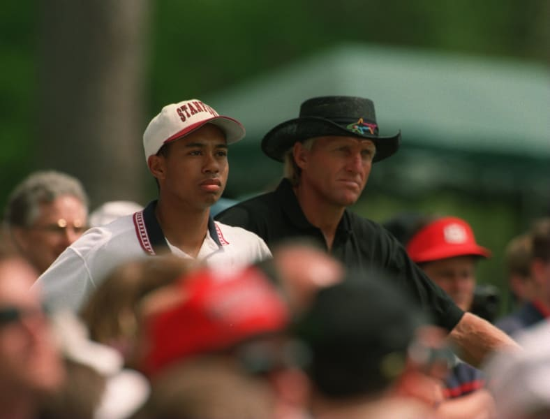 Tiger Woods Masters Augusta 1995