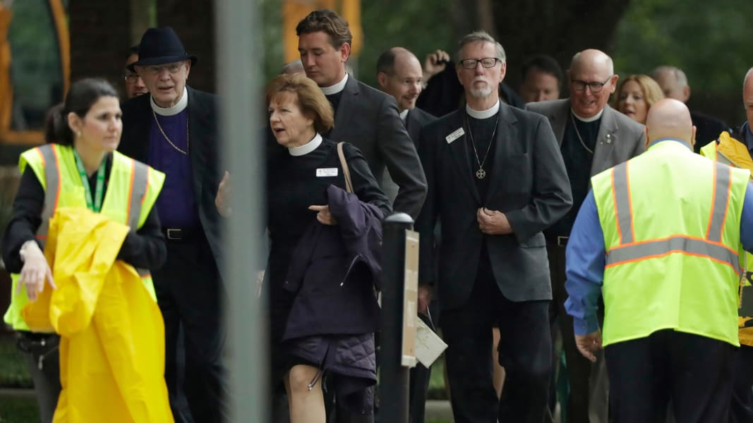 03 Barbara Bush funeral Houston 0421