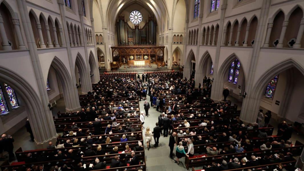 04 Barbara Bush funeral Houston 0421