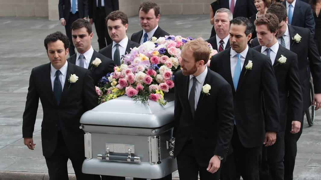 19 Barbara Bush funeral Houston 0421
