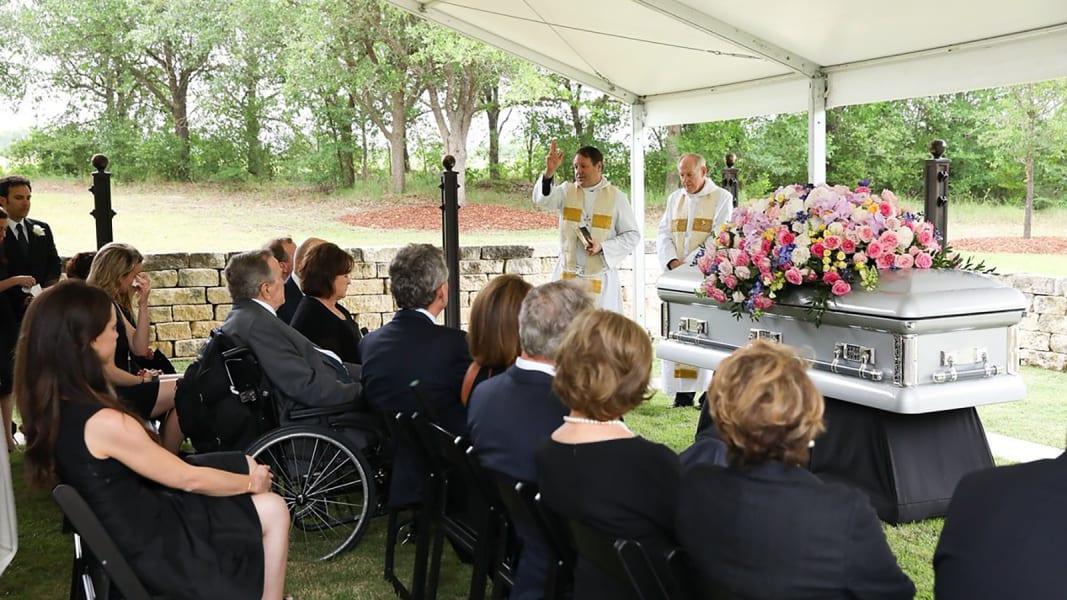 20 Barbara Bush funeral