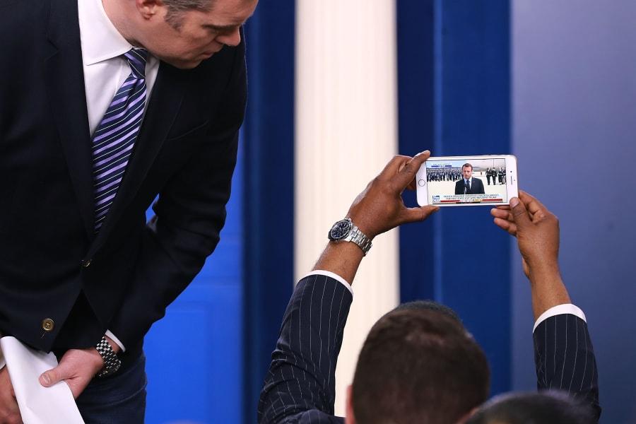03 Macron Trump visit gallery