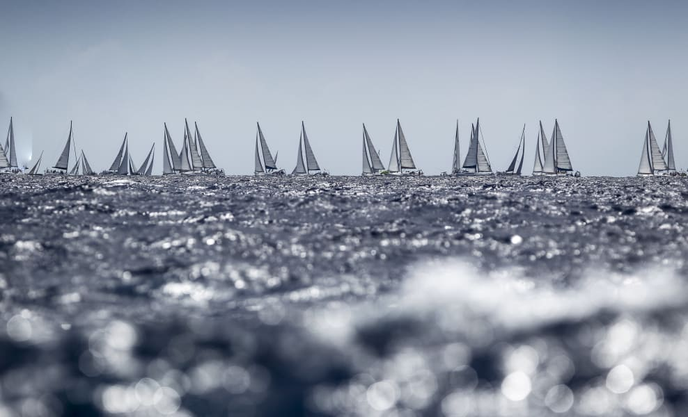 Antigua Sailing Week fleet