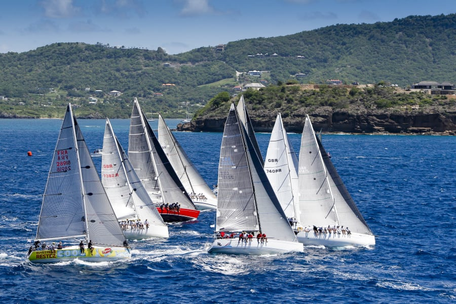 Antigua Sailing Week start new