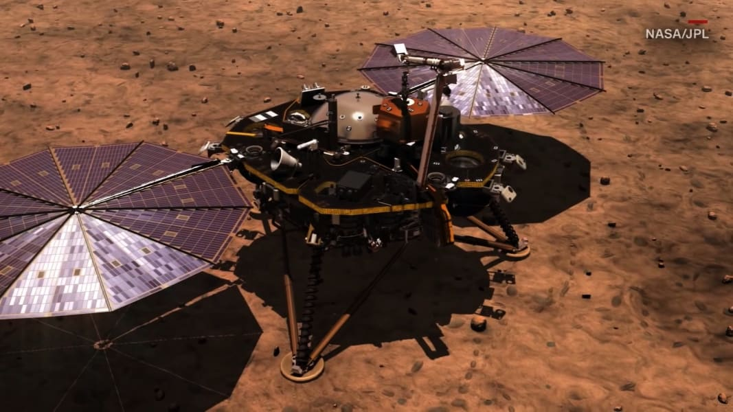 nasa mars mission insight