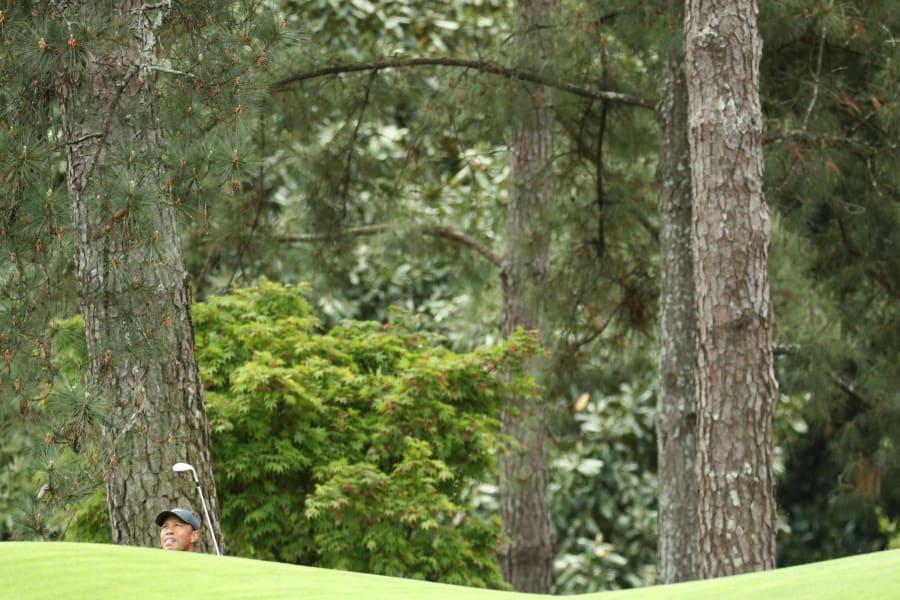 Tiger Woods Masters Augusta best photos final round