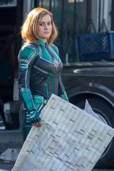 Captain Marvel Brie Larson still