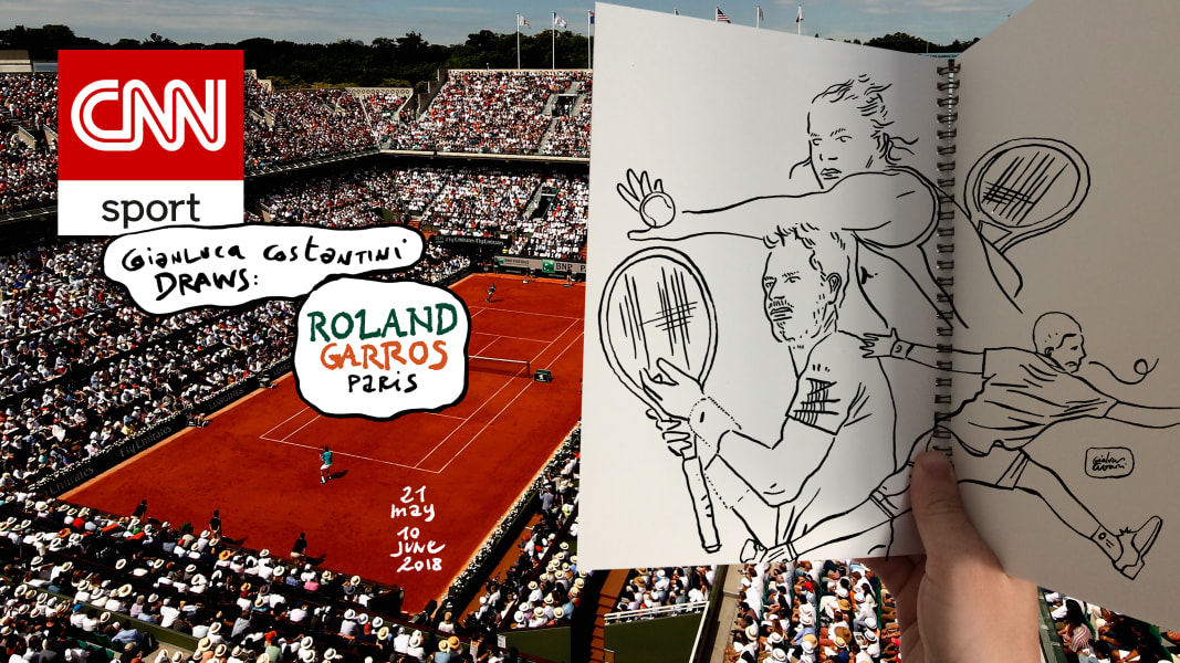 french open cartoon general