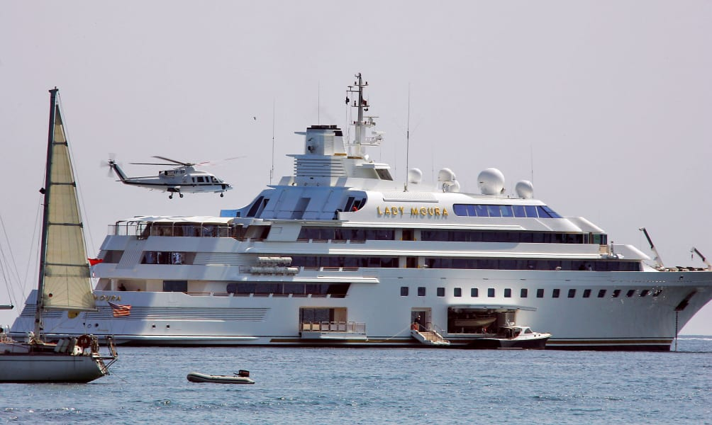 10 of the world's most expensive superyachts and their owners